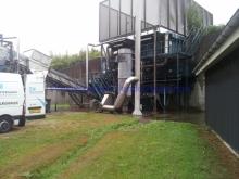 Kemisk rensning før Epoxy, Grindsted Rensningsanlæg, foto 1