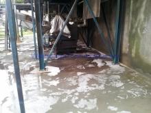 Kemisk rensning før Epoxy, Grindsted Rensningsanlæg, foto 2