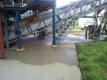Kemisk rensning før Epoxy, Grindsted Rensningsanlæg, foto 4